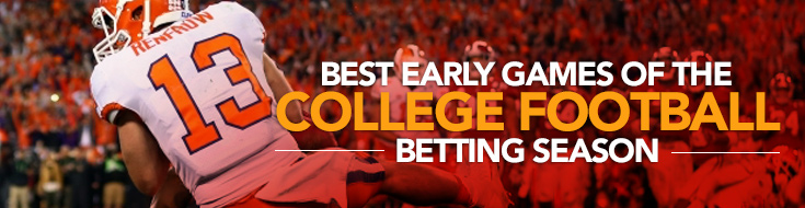 2017 College Football Betting Best Games