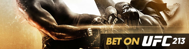 UFC 213 Betting – Headlining Bout – Saturday, July 8th