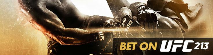UFC 213 Betting – Headlining Bout – Saturday, July 8th