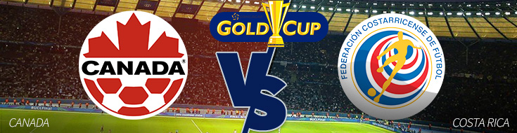 CONCACAF Gold Cup Odds – Costa Rica vs. Canada – Tuesday, July 11th