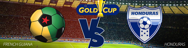 Betting on CONCACAF Gold Cup – French Guiana vs. Honduras
