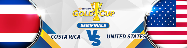 CONCACAF Gold Cup – Costa Rica vs. USA Odds – Saturday, July 22nd