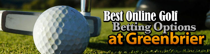 Golf Betting Options at Greenbrier Classic