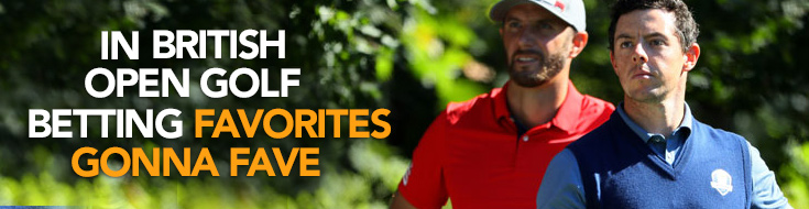British Open Golf Betting Favorites