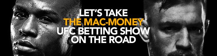 Conor McGregor vs. Floyd Mayweather odds