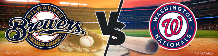 Milwaukee Brewers vs. Washington Nationals Odds – Wednesday, July 26th