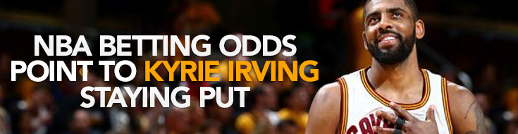 Latest Kyrie Irving betting news