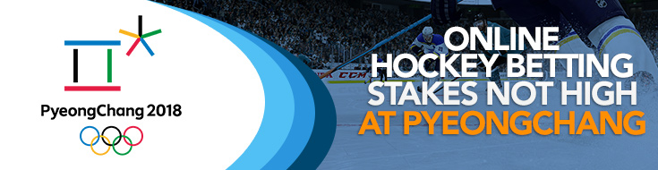 Hockey Betting at 2018 Winter Olympics in Pyeongchang County