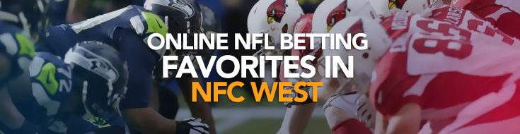 NFC West Online betting favorites