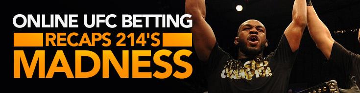 UFC 214 Recap betting madness