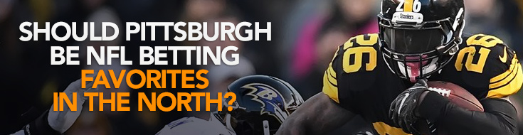 Pittsburgh Steelers NFL Betting Favorites in the North