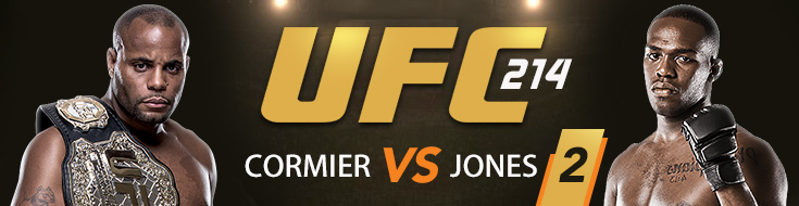 UFC 214 Betting Card