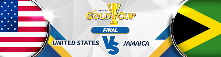 CONCACAF Gold Cup Odds – USA vs. Jamaica Odds – Wednesday, July 26th