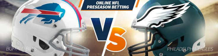 Buffalo Bills vs. Philadelphia Eagles Preseason week 2 odds – Thursday, August 17th