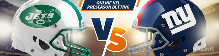 New York Jets vs. New York Giants Preseason Week 3 Odds– Saturday, August 26th