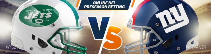 New York Jets vs. New York Giants Preseason Week 3 Odds– Saturday, August 26th