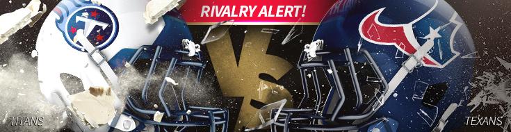Tennessee Titans vs. Houston Texans NFL Week 4 Betting – Sunday, October 1st