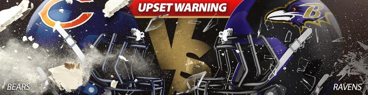 NFL Betting Chicago Bears vs. Baltimore Ravens – Sunday, October 15th