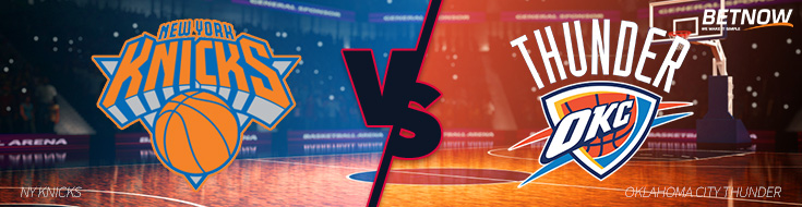 Betting on NBA New York Knicks vs. Oklahoma City Thunder – Thursday, October 19th