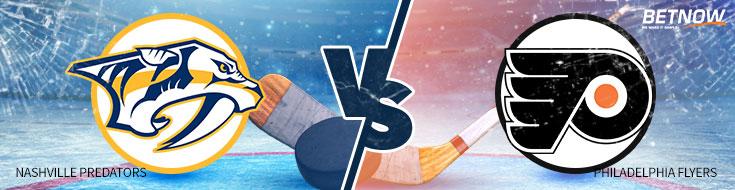 NHL Betting - Nashville Predators vs. Philadelphia Flyers – Thursday, October 19th