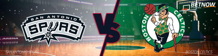 San Antonio Spurs vs. Boston Celtics – Monday, October 30th