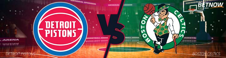 NBA Sportsbook Odds Detroit Pistons vs. Boston Celtics – Monday, November 27th
