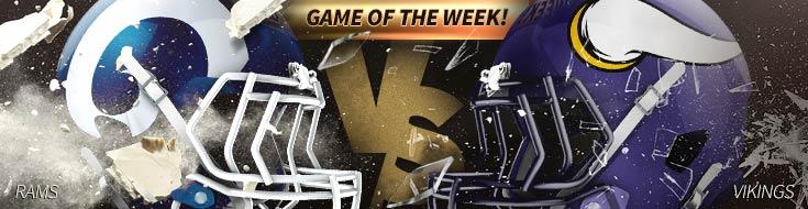 Los Angeles Rams vs. Minnesota Vikings – Sunday, November 19th
