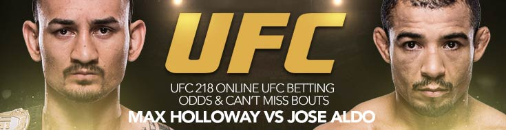 UFC 218 Online UFC Betting Odds