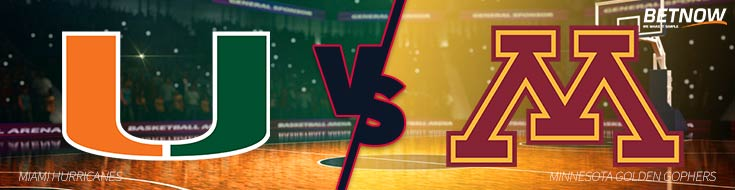 Miami Hurricanes vs. Minnesota Golden Gophers – Wed., Nov. 29th