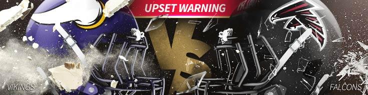 Minnesota Vikings vs. Atlanta Falcons NFL Week 13 Betting – Sunday, December 2nd