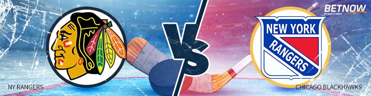Hockey Betting Odds New York Rangers vs. Chicago Blackhawks – Wednesday, November 15th