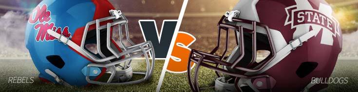 College Football betting Ole Miss Rebels vs. Mississippi State Bulldogs – Thursday, Nov. 20th