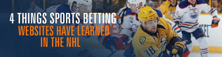 Sports Betting Websites Have Learned in the NHL