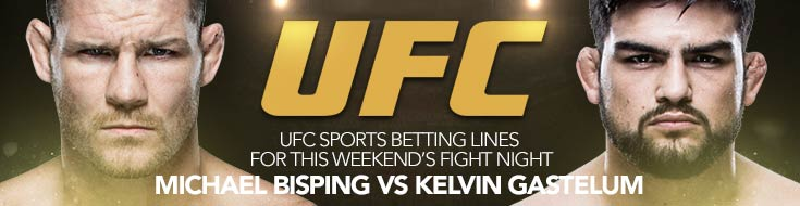 UFC Fight Night 122: Bisping vs. Gastelum – Saturday, Nov. 25th