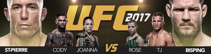 UFC 217 Main Card & Online Betting Odds