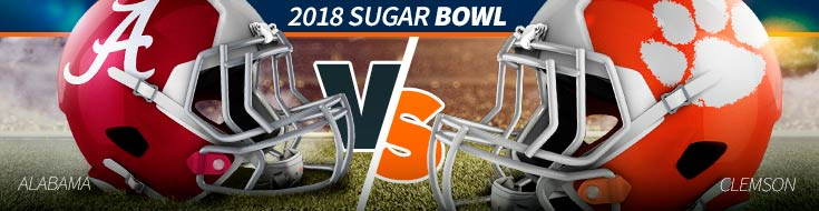 2018 Sugar Bowl – Alabama vs. Clemson Odds – Monday, January 1st