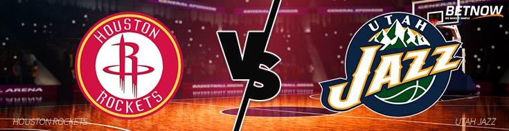 Houston Rockets vs. Utah Jazz – Thursday, December 7th - BetNow Sportsbook Odds