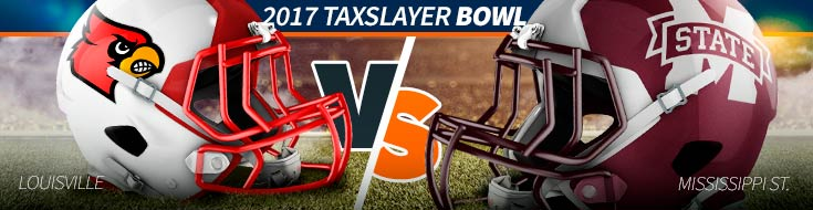 2017 TaxSlayer Bowl – Louisville vs. Mississippi St. – Sat., Dec. 30th