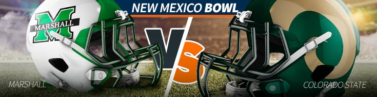2017 New Mexico Bowl Odds – Marshall vs. Colorado State – Saturday, Dec. 16th