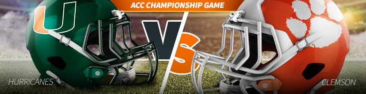 NCAA Football betting Odds Miami Hurricanes vs. Clemson Tigers – Saturday, December 2nd