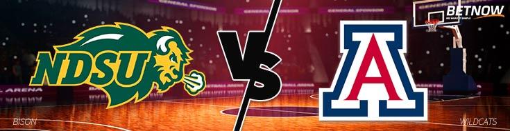 College Basketball Odds and Preview North Dakota State vs. Arizona