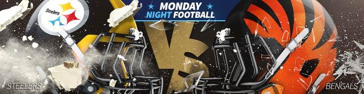 Monday Night Football Odds Pittsburgh Steelers vs. Cincinnati Bengals – Monday, December 3rd