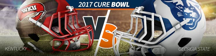 2017 Cure Bowl Odds – Western Kentucky vs. Georgia St. – Sat., Dec. 16th