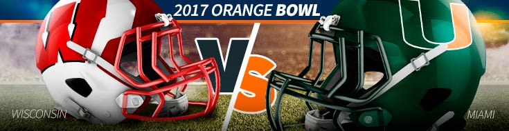 2017 Orange Bowl – Wisconsin vs. Miami – Saturday, Dec. 30th