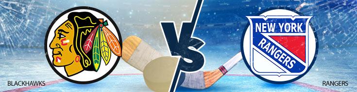 Hockey Odds Chicago Blackhawks vs. New York Rangers – Wednesday, Jan. 3rd