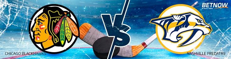 Hockey Betting Odds and Preview Chicago Blackhawks vs. Nashville Predators – Tuesday, Jan. 30th