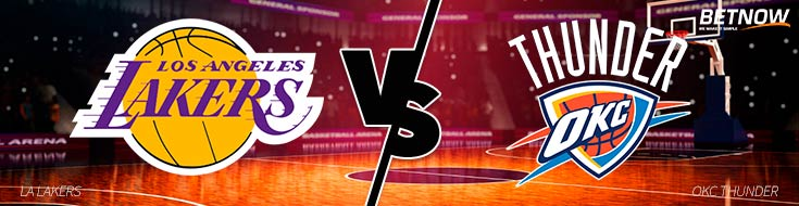 Betting on NBA Los Angeles Lakers vs. Oklahoma City Thunder – Wed., Jan 17th