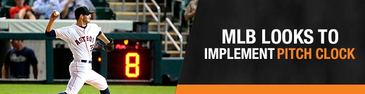 MLB League Looks to Implement Pitch Clock