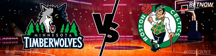 Best NBA odds Minnesota Timberwolves vs. Boston Celtics betting sportsbook