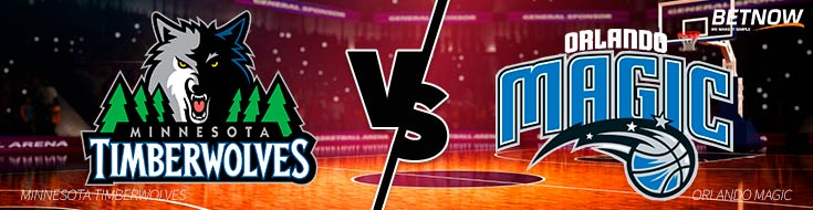 Bet on NBA Minnesota Timberwolves vs. Orlando Magic – Tuesday, Jan. 16th